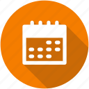 calendar, circle, date, month, planner, schedule icon icon