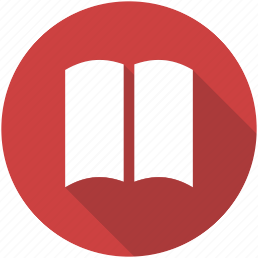 book, bookmark, circle, learn, library, read, reading icon icon