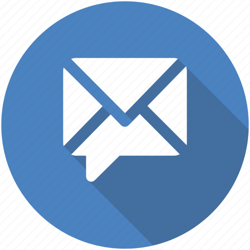 chat, chatting, circle, comment, email, message, messaging icon icon