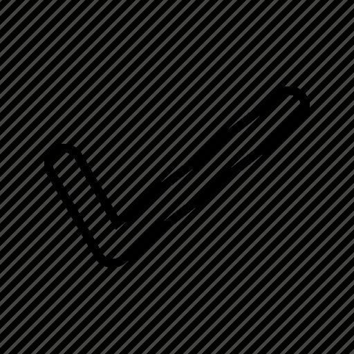 accept, check, tick icon