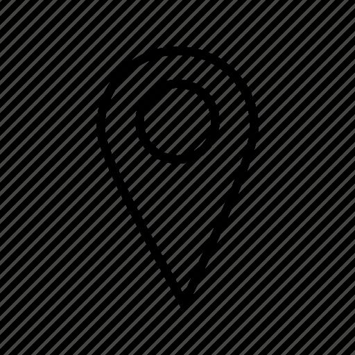 iocation, map, navigation icon
