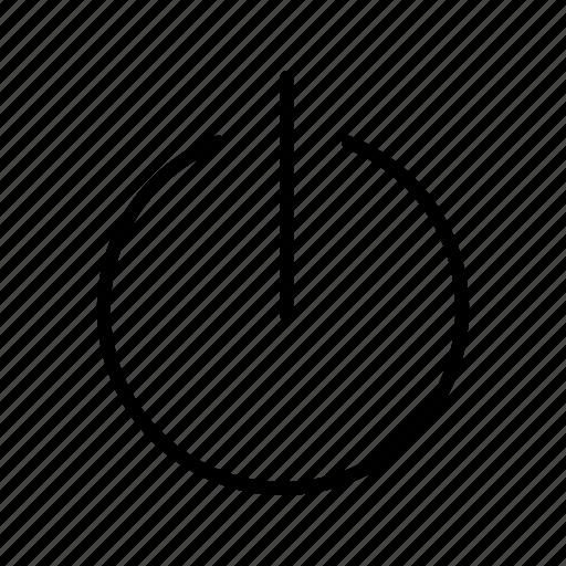 off, power, shutdown icon