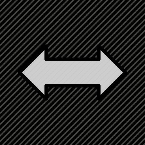 arrow, dooble, down, right icon