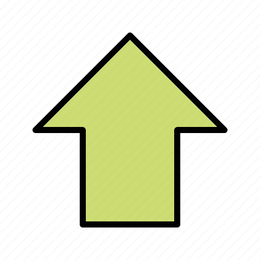 arrows, down, up, upload icon