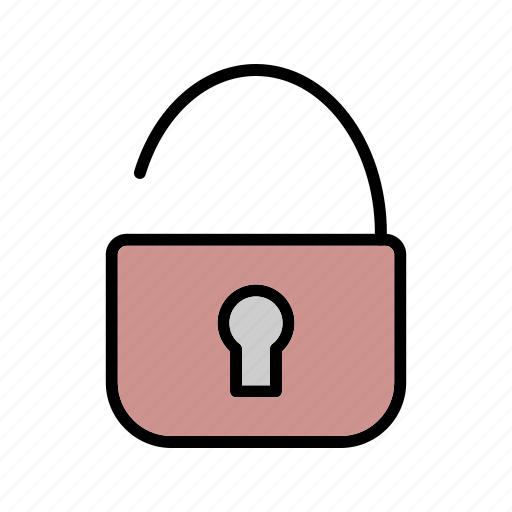 password, protection, security, unlock icon
