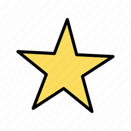 favorite, rate, rating, star icon