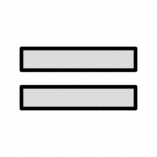equal, finance, math icon