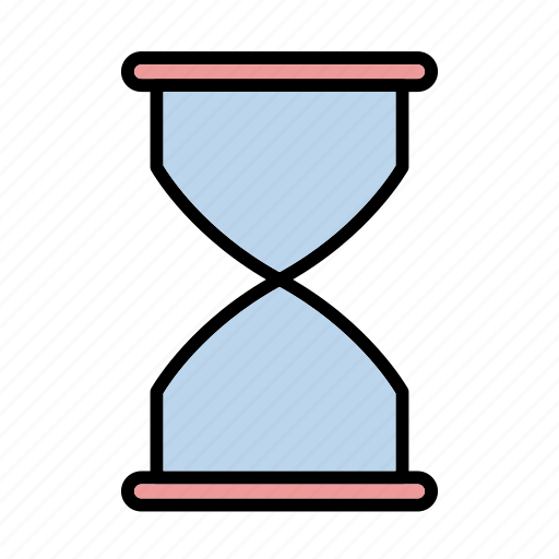 clock, hourglass, sand, sandglass icon