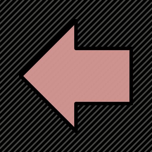 arrows, back, left, previous icon