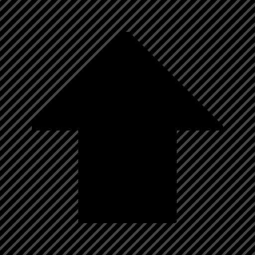 arrows, down, upload icon