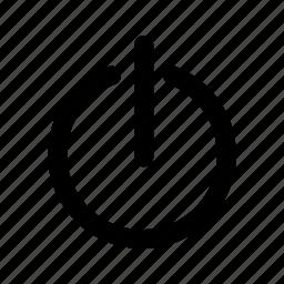 power, shutdown, standby icon
