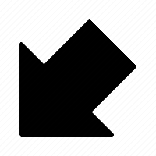 arrow, direction, download icon