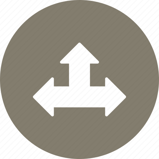 right, side, three, up icon