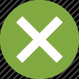 cross, delete, remove icon