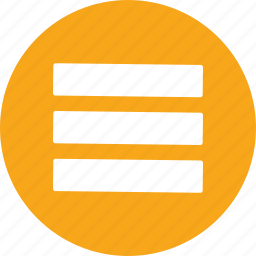 document, list, menu icon