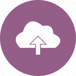 cloud, up, upload icon