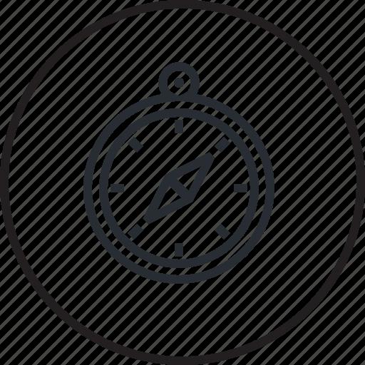 compass, direction, gps, icon, location, navigation, web icon