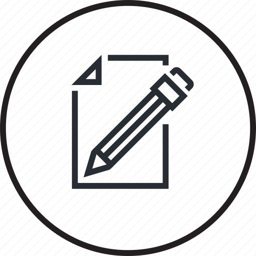 business, document, format, icon, office, tool, writing icon