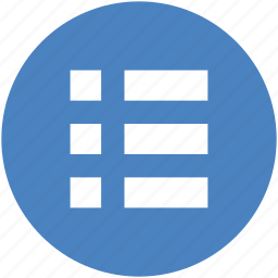 checklist, circle, feed, list, playlist, tasks icon icon