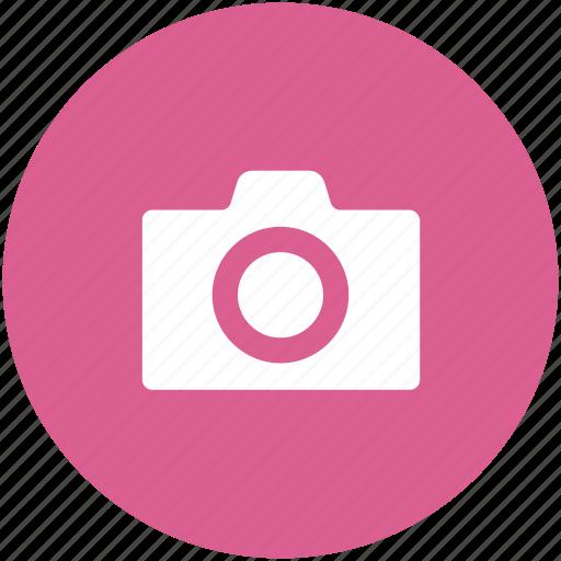 camera, circle, photo, photographer, photography, shutterbug icon icon