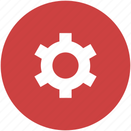 circle, cog, customize, gear, preferences, settings icon icon