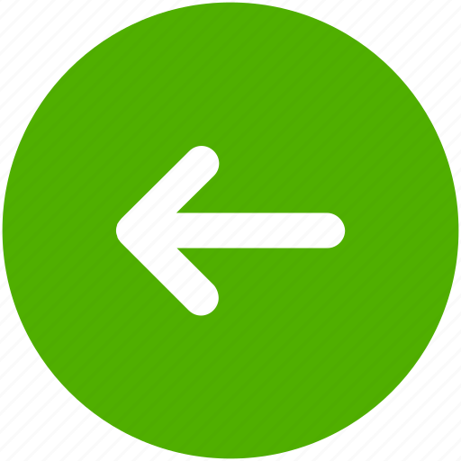 arrow, back, blue, circle, left, previous, west icon icon