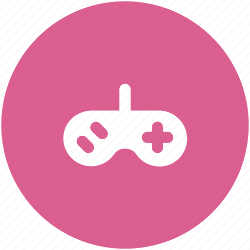 arcade, circle, controller, entertainment, game, gamepad, gaming icon icon