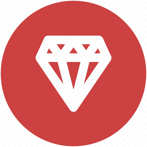 best, circle, diamond, gem, jewelry, premium icon icon