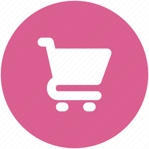 buy, cart, circle, ecommerce, shopping, trolley icon icon
