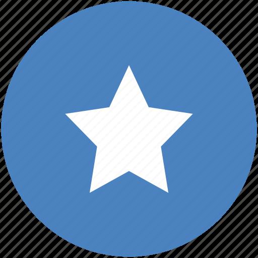 achievement, bookmark, circle, favorite, ranking, star, yellow icon icon