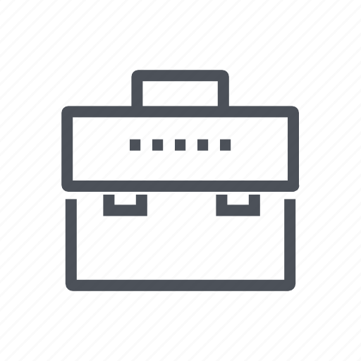 briefcase, business, finance, office, suitcase icon