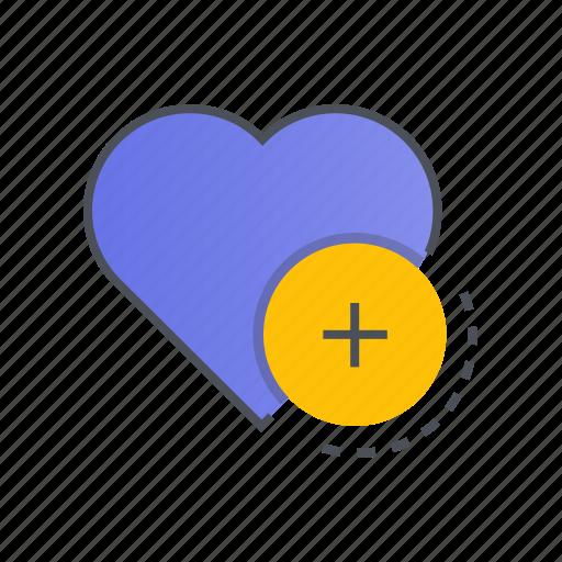 add, bookmark, favorite, favourite, like icon