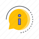 communication, help, info, information, talk icon
