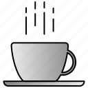 coffee, cup, drink, hot, late icon
