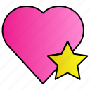 favorite, heart, like, love, romance icon