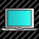 computer, laptop, monitor, screen icon