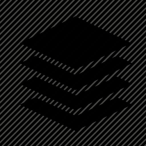 arrange, layers icon