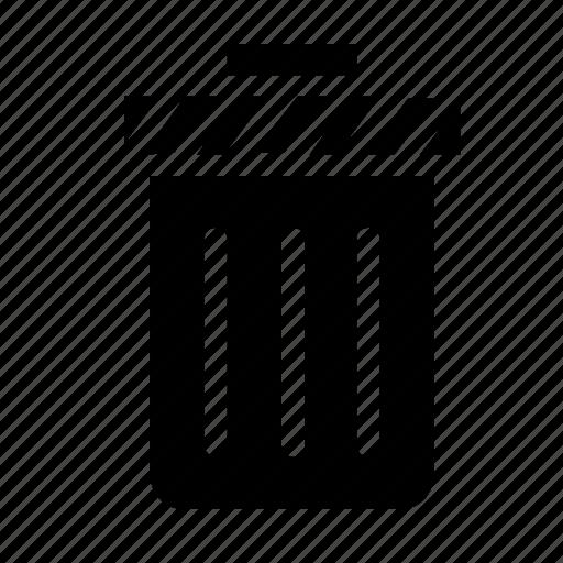 can, trash icon