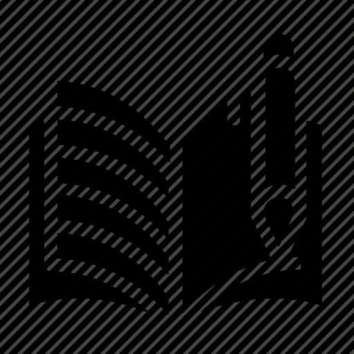 book, edit, notebook, write icon