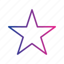achievement, favorite, like, rate, rating, star icon
