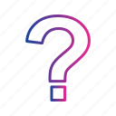 faq, info, question, question mark, sign icon