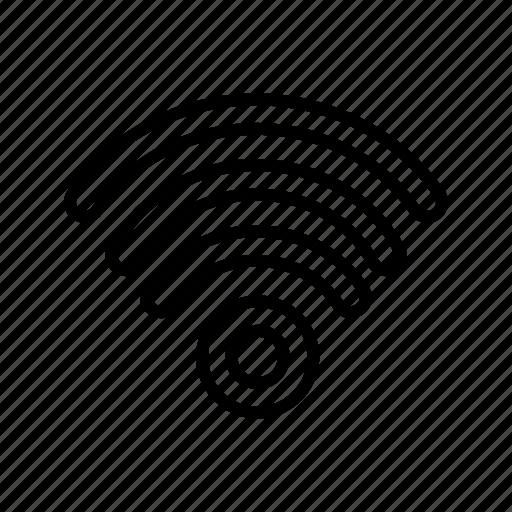 antenna, modem, signal, wifi, wireless icon