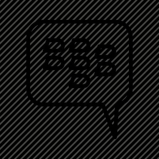 basic element, bbm, black berry messanger icon