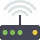cloud, connection, link, modem, phone, signal, wlan icon