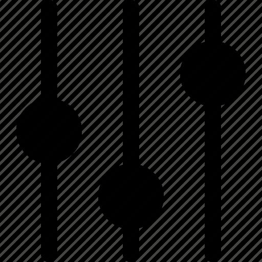 audio, equalizer, media, music, ui, ux, volume icon