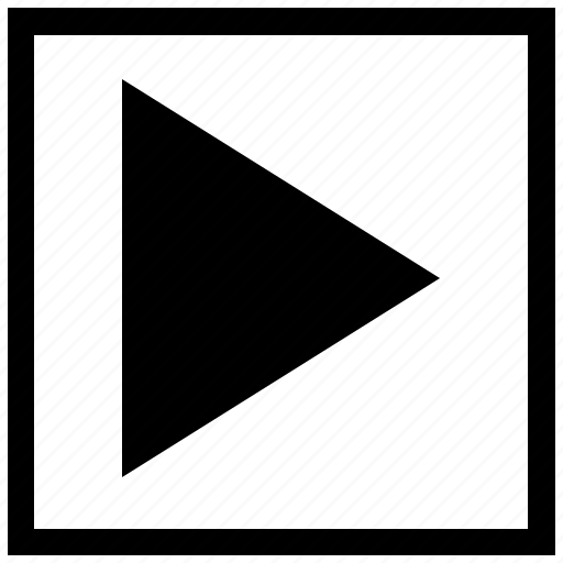 arrow, forward, function, navigation, next, right, square icon