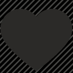 heart, like, love, romantic, sweet, sweetheart icon