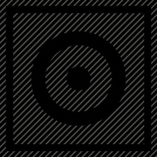 choice, element, navigation, radiobutton, round icon