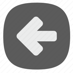 arrow, back, function, go, left icon
