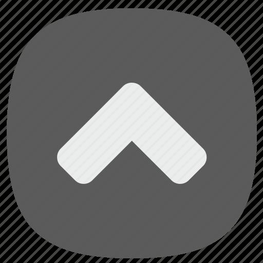 arrow, go, top, up icon